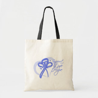 Support Love Hope - Stomach Cancer Tote Bag