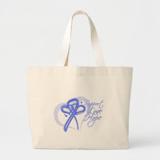 Support Love Hope - Stomach Cancer Canvas Bag