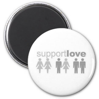 support-love magnet