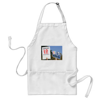 Support Love, Not Hate - No on Prop 8 Adult Apron