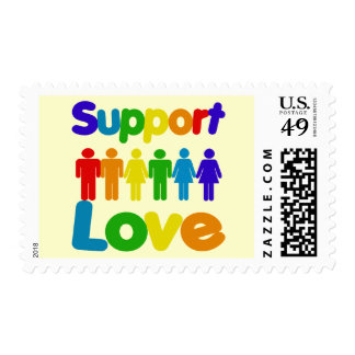 Support Love Postage