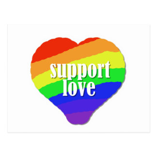 Support Love Post Cards