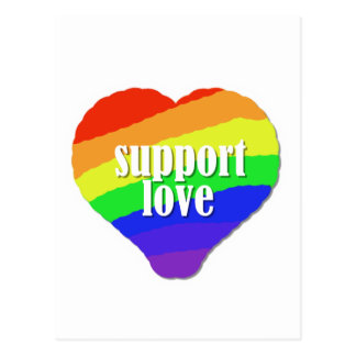 Support Love Post Card
