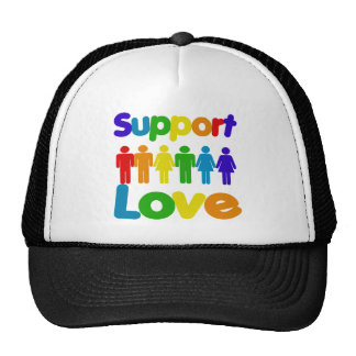 Support Love Trucker Hat