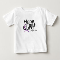 support lupus awareness Fight Gifts Baby T-Shirt