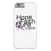support lupus awareness Fight Gifts Barely There iPhone 6 Case