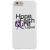 support lupus awareness Fight Gifts Barely There iPhone 6 Plus Case