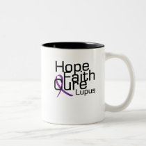 support lupus awareness Fight Gifts Two-Tone Coffee Mug