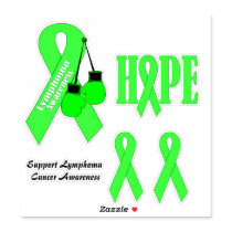 Support Lymphoma Cancer Awareness stickers