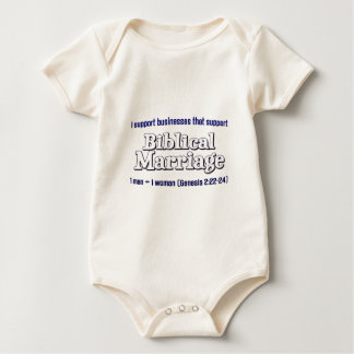 Support Marriage Baby Bodysuit