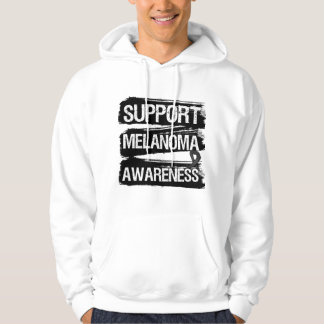 Support Melanoma Awareness Grunge Hoodie