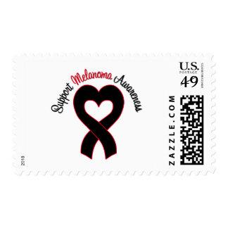 Support Melanoma Awareness Postage Stamp