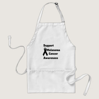 Support melanoma Cancer Awareness Adult Apron