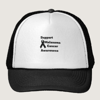 Support melanoma Cancer Awareness Trucker Hat