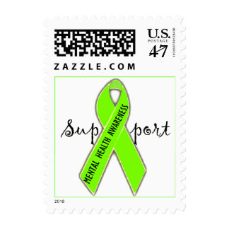 Support Mental Health Awareness/DivaLime Postage