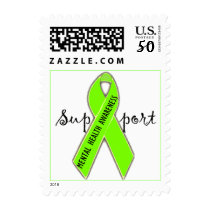 Support Mental Health Awareness/DivaLime Postage