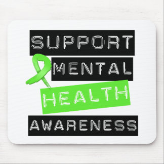 Support Mental Health Awareness Mouse Pad