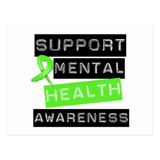 Support Mental Health Awareness Post Cards