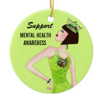 Support Mental Health Ornaments