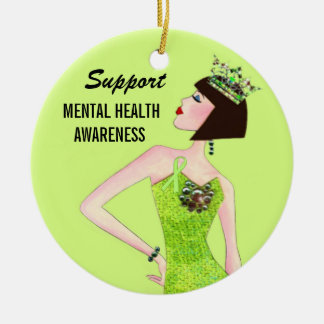 Support Mental Health Ornaments