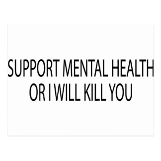 Support Mental Health Postcard