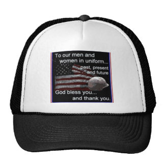 support mesh hat