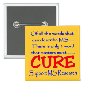 Support MS Research Pin