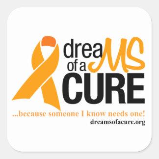 Support MS! Square Sticker