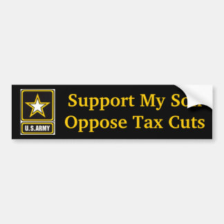 Support My Army Son Bumper Sticker