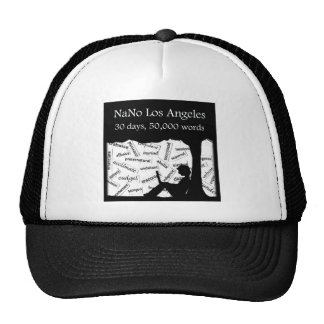 Support NaNo Los Angeles! Trucker Hat