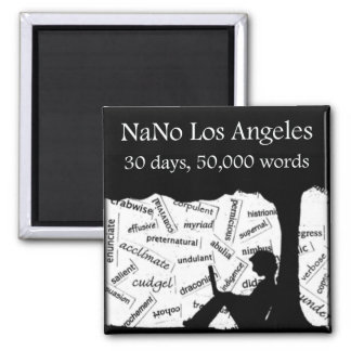 Support NaNo Los Angeles Magnet