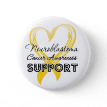 Support Neuroblastoma Cancer Awareness Pinback Button