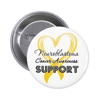 Support Neuroblastoma Cancer Awareness Pinback Button