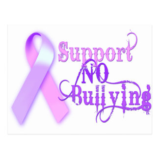 Support No Bullying Postcard