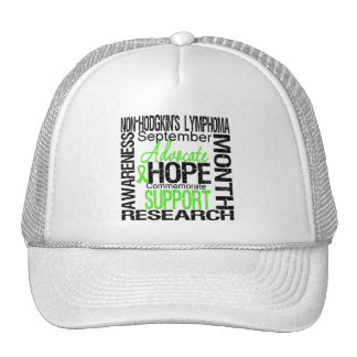 Support Non Hodgkins Lymphoma  Awareness Month Mesh Hats