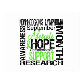 Support Non Hodgkins Lymphoma  Awareness Month Postcard
