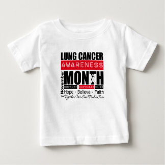 Support November Lung Cancer Awareness Month Infant T-shirt