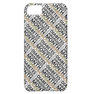 Support November National Diabetes Awareness Month iPhone 5C Covers
