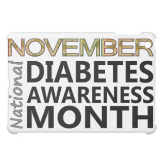 Support November National Diabetes Awareness Month iPad Mini Case