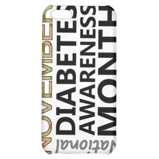 Support November National Diabetes Awareness Month iPhone 5C Cases