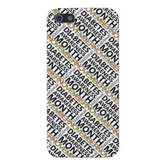 Support November National Diabetes Awareness Month iPhone 5/5S Cover