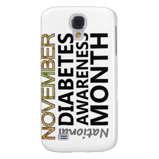 Support November National Diabetes Awareness Month Samsung S4 Case