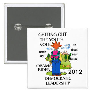 SUPPORT OBAMA 2012 PINBACK BUTTONS
