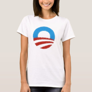 SUPPORT OBAMA CIRCLE Design  T-SHIRT