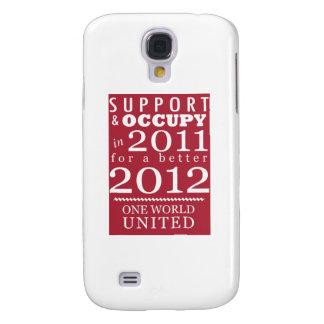 Support & Occupy Future Samsung Galaxy S4 Case