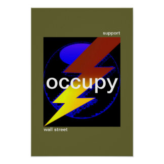support occupy wall street poster