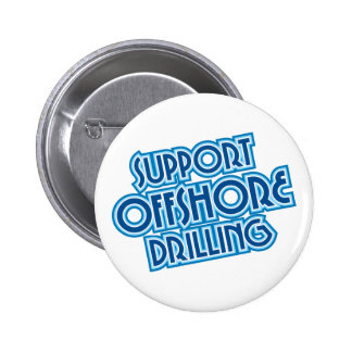 Support Offshore Drilling 2 Inch Round Button