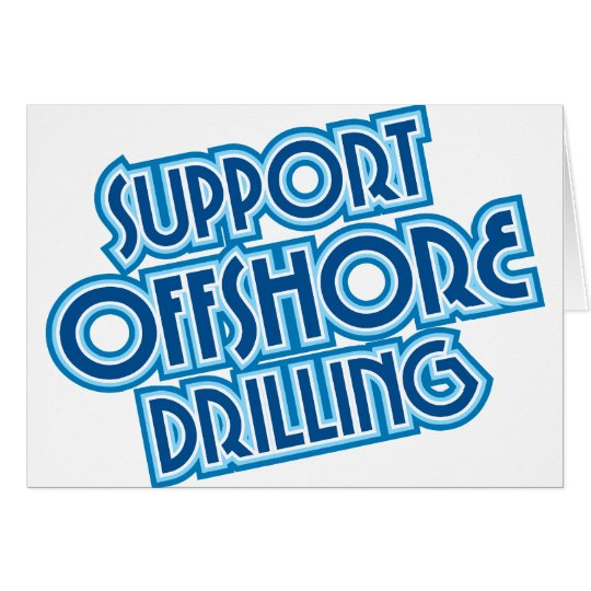 Support Offshore Drilling Card