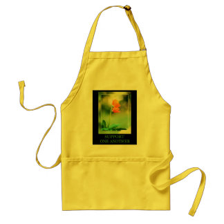 Support One Another Adult Apron