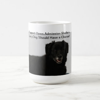 Support Open Admission Shelters Coffee Mug